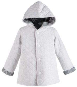 First Impressions Toddler Boys Hooded Reversible Quilted Cotton Jacket, Created for Macy's