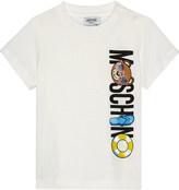 Moschino Bear logo cotton T-shirt 6-36 months