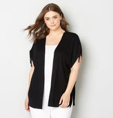 Avenue Ruched Sleeve Cardigan