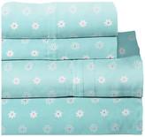 Lullaby Bedding Printed Sheet Set, Butterfly Garden, Twin XL