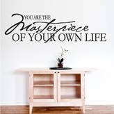 Your Own Wall Art 'You Are The Masterpiece Of Life' Wall Sticker
