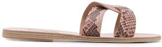Ancient Greek Sandals Desmos python effect sandals
