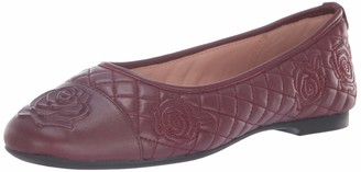 Taryn Rose Women's Reese Ballet Flat fig 5 M Medium US