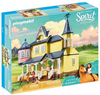 Playmobil Spirit Lucky's Happy Home Set