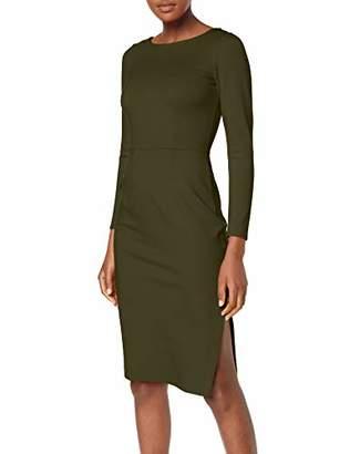 Closet London Women's Long Sleeve Knee Lenght Bodycon Dress Party,8 (Size:8)