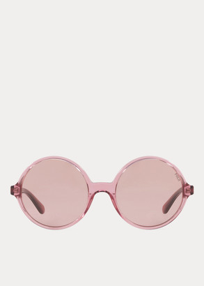 Ralph Lauren Oversize Round Sunglasses