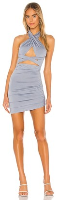 superdown Suzette Halter Mini Dress