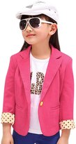 uxcell® Girls Long Sleeves Fully Lined Casual Blazer Allegra Kids