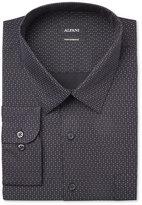 Alfani Men's Big & Tall Classic-Fit Performance Black Twinkle Star Print Dress Shirt, Only at Macy's