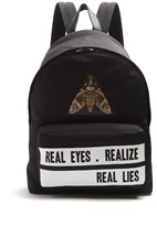 Givenchy Real Lies-print Backpack