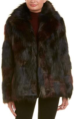 Rachel Roy Fuzzy Coat