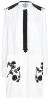 Prada Embellished cotton dress