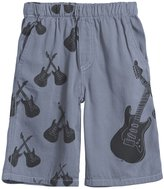 City Threads Cross Guitars Shorts (Baby) - Concrete-18-24 Months
