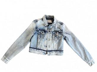 AllSaints Blue Denim - Jeans Jacket for Women