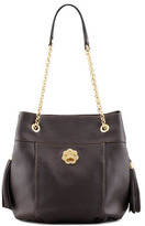 Eric Javits Tina Shoulder Bag, Chocolate