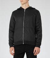 Reiss Ontario Reversible Wool-Blend Bomber Jacket