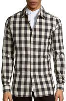 Pierre Balmain Men's Checked Cotton Shirt