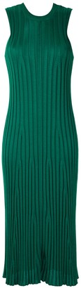 OSKLEN Ribbed Knit Midi Dress