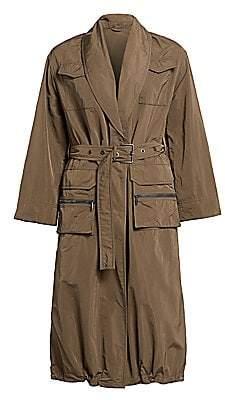 Brunello Cucinelli Women's Taffeta Trench Coat