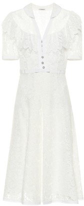 Miu Miu Lace midi dress