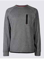 M&S Collection Active Crew Neck Sweatshirt