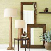Rustic Wood Floor Mirror