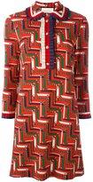 Gucci bridle strap printed dress - women - Viscose/Cotton/Spandex/Elastane - S