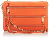 Rebecca Minkoff 5 Zip Convertible Cross Body Bag