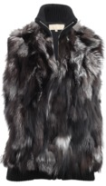 Michael Kors Fur Sweater Vest