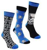 Star Wars Kids 3 Pack Crew Socks Footwear Boys Accessories