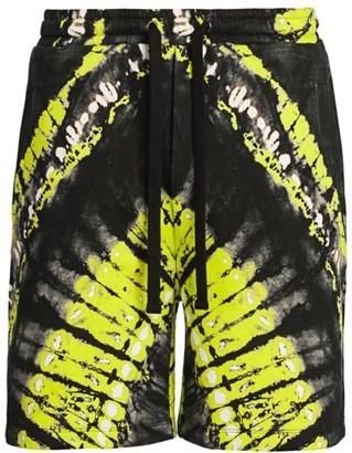 Valentino Pop Skin Tie-Dye Bermuda Shorts