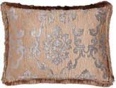 Isabella Collection Standard Grace Damask Sham with Fringe