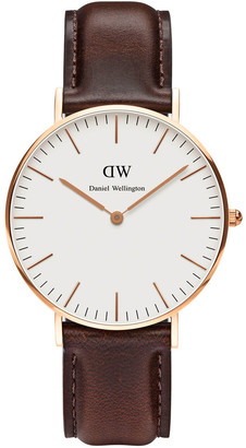 Daniel Wellington Classic Bristol 36mm Rose Gold Watch