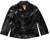 Tory Burch Patent Leather Blazer