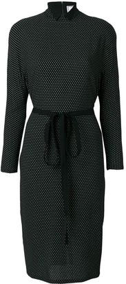 Versace Pre-Owned Polka Dot Print Dress