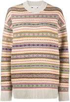 Stella McCartney Fairisle crew neck jumper