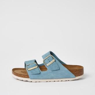 Birkenstock River Island Womens light Blue Arizona sandals