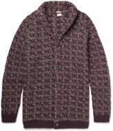 Massimo Alba - Jacquard-knit Alpaca-blend Cardigan