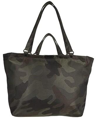 Rebecca Minkoff Siena Nylon Tote (Military Camo) Handbags