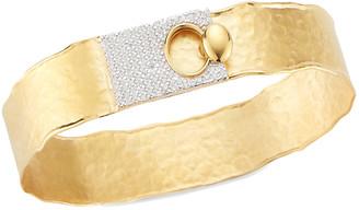 I. Reiss 14K 0.62 Ct. Tw. Diamond Cuff Bracelet