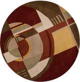 "Kas Signature 9134 Art Deco 5'6"" Round Rug"