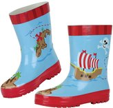 Stephen Joseph Pirate Rain Boot - Blue-6