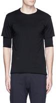 Attachment 2-in-1 cotton T-shirt