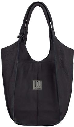 You By Tokarska Leather Handbag Malezia Black