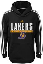 adidas Boys 8-20 Los Angeles Lakers Playbook Hoodie