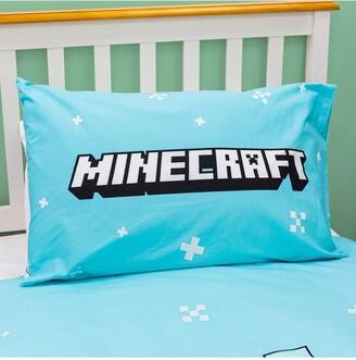 Minecraft Polar Bear Christmas Panel Single Duvet Cover Set