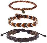 Icon Brand 3 PACK Bracelet brown