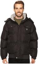 U.S. Polo Assn. Short Snorkel Jacket with Faux Fur Hood