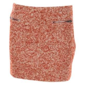 Joseph Orange Wool Skirts