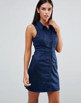 AX Paris Suedette Shirt Dress